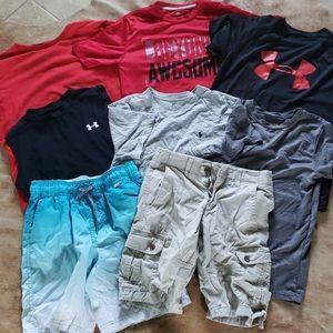 Youth Large (10-12) Boys Shirts and shorts